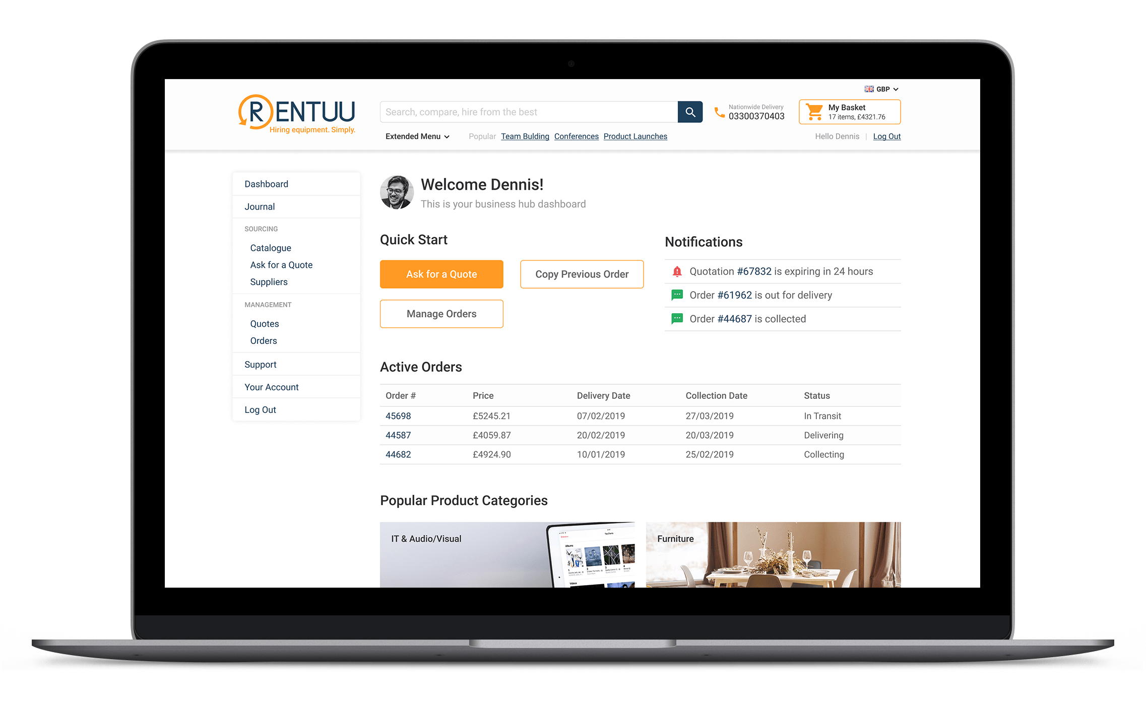 Rentuu Business Hub