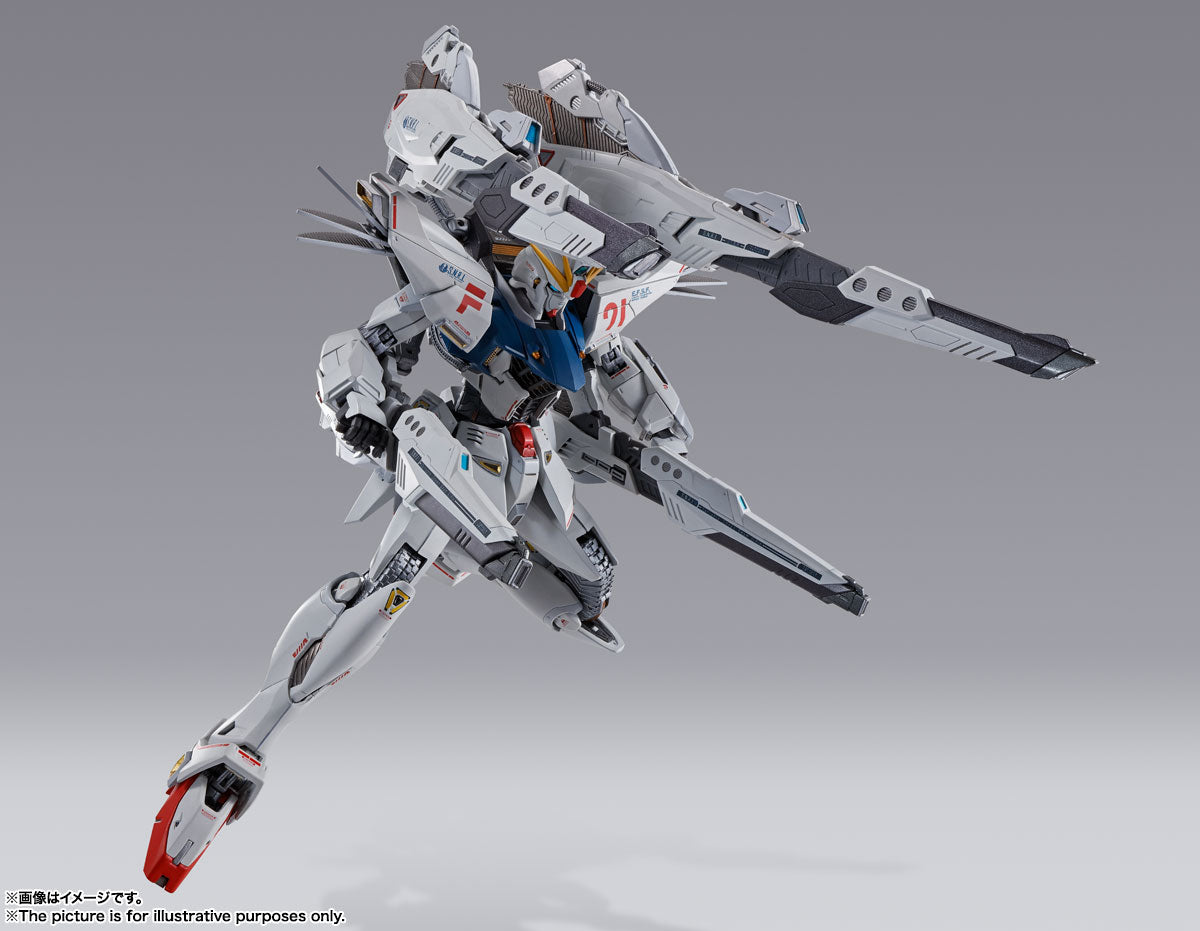Metal Build Gundam F91 (Chronicle White Ver.)