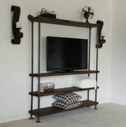 Industrial Entertainment Center - TV Media Console