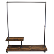 90H Half Shelf - Industrial Clothes Rack