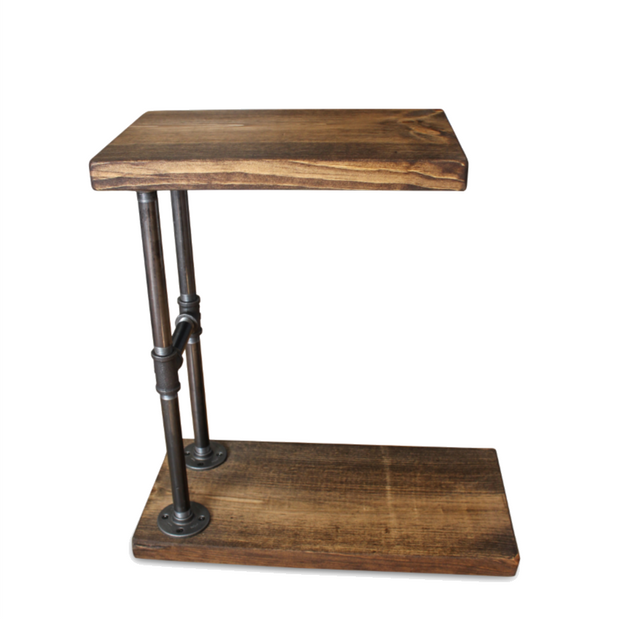 Beau Industrial C Table   Side Table   Sofa Table