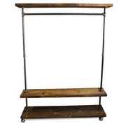 IRD Triple Shelf - Industrial Clothes Rack