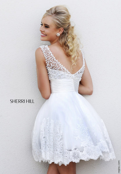 Lace and Pearl Sherri Hill - 4302