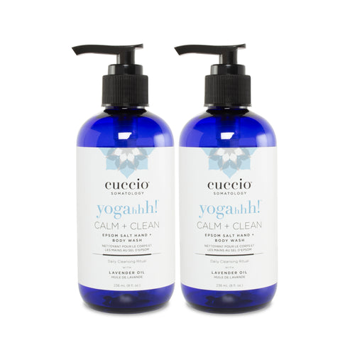 2 CALM + CLEAN HAND & BODY WASH SET - LIMITED QUANTITY