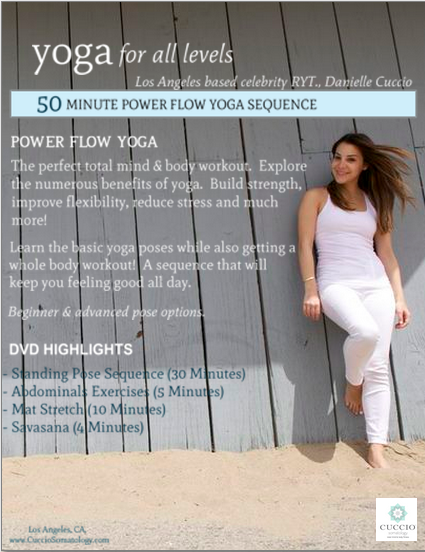 Cuccio Power Flow Yoga DVD