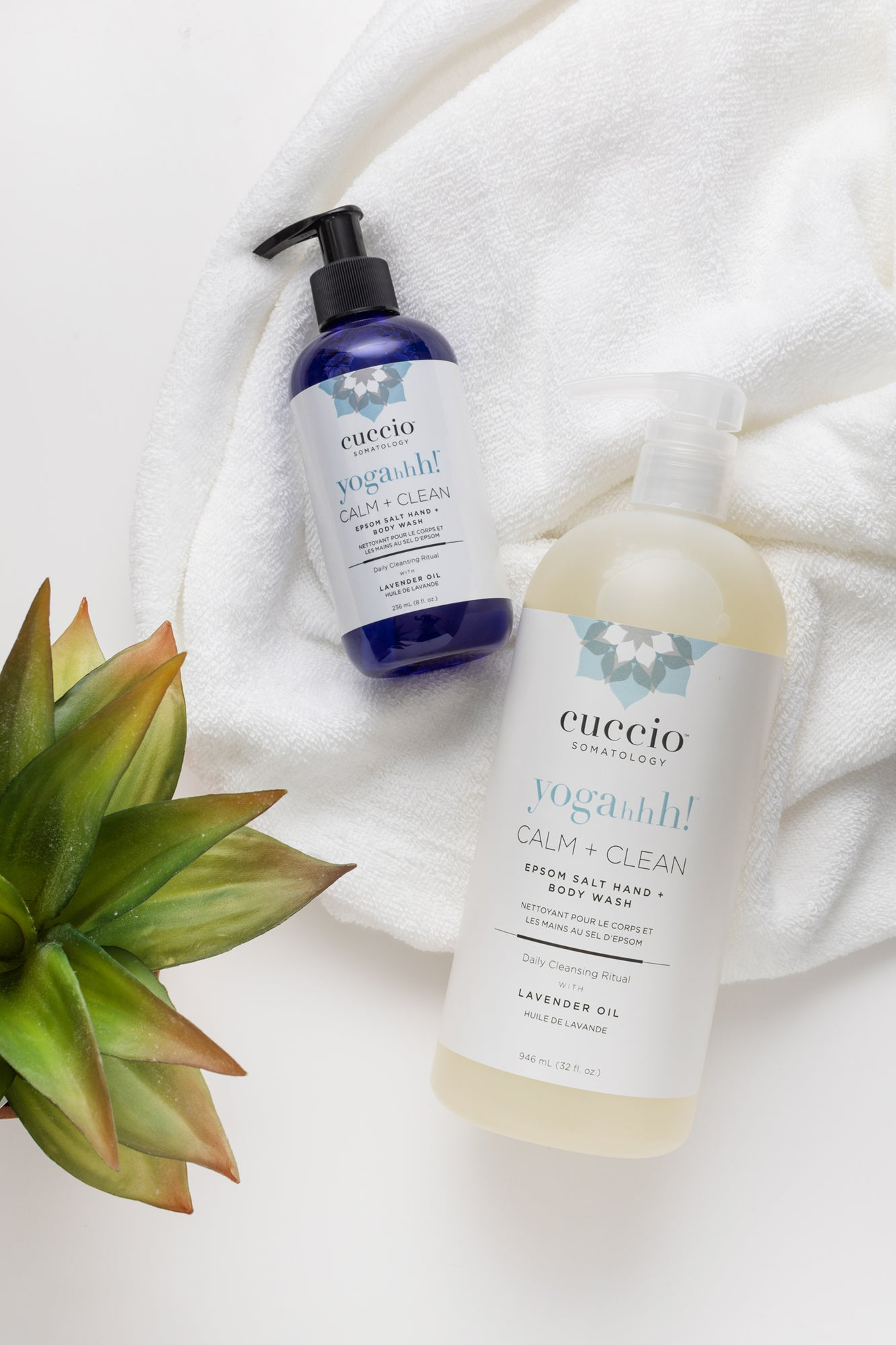 CALM + CLEAN LAVENDER BODY + HAND WASH 32oz.