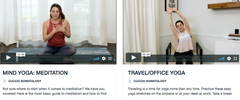 YOGA + WELLNESS ONLINE AT HÖME VIDEO SERIES!