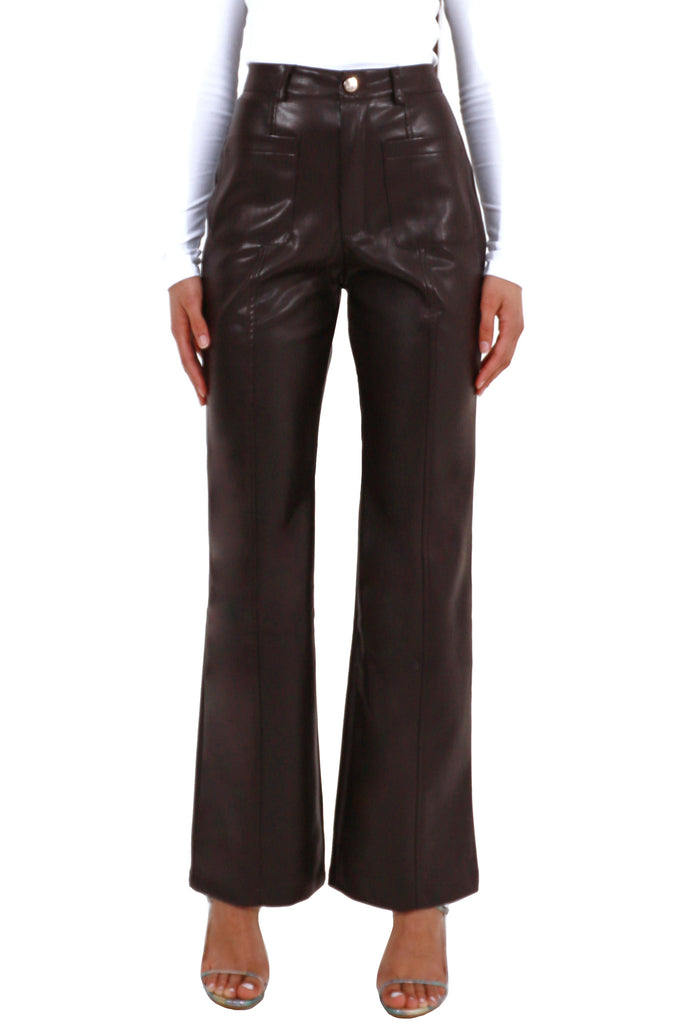 Jenessa Pants - Brown