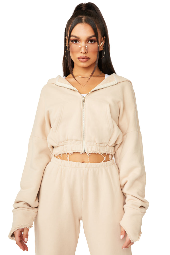 Remy Jacket - Nude
