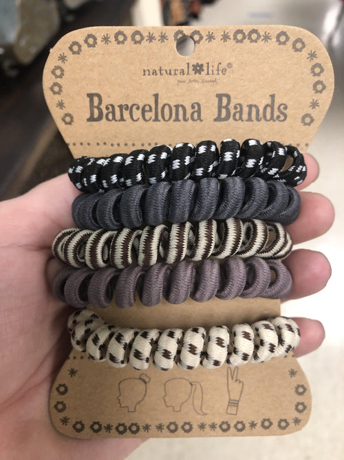 Paracord Grey Barcelona Bands