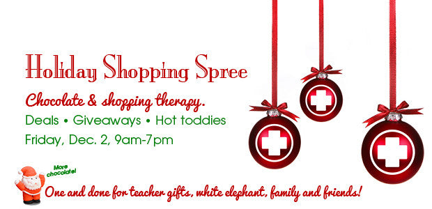 EVENT: First Friday HOLIDAY SHOPPING SPREE