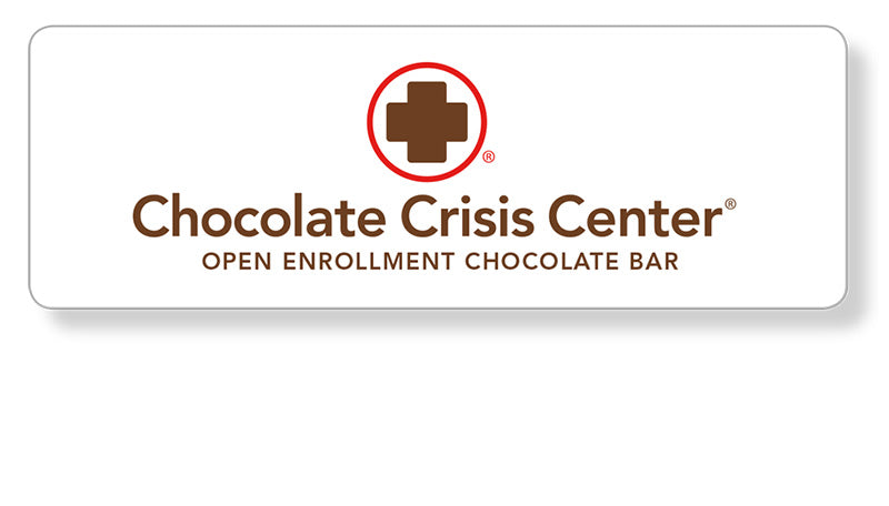 Open enrollment chocolate bar