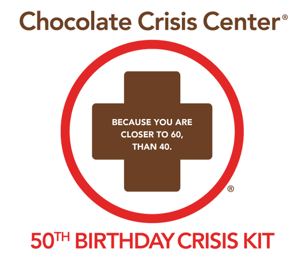 50th Birthday Crisis Mini Kit - Single pack