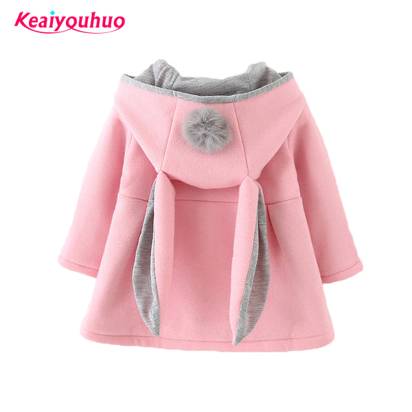 LeeLee Baby Girl Rabbit Coat