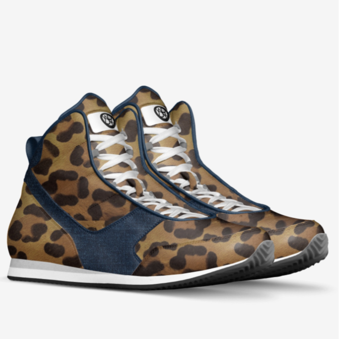 Echelonce Jaguar/Denim Designer Kicks