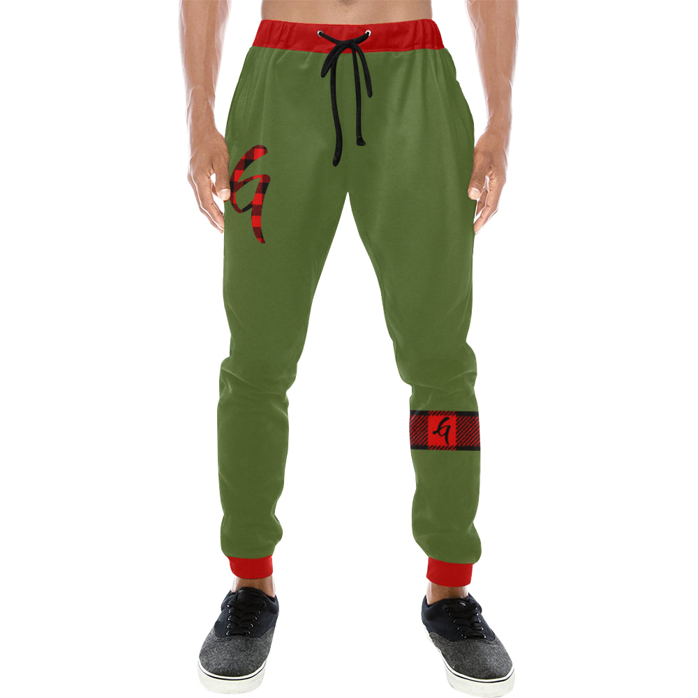 Gangish Flannel  Mens Joggers