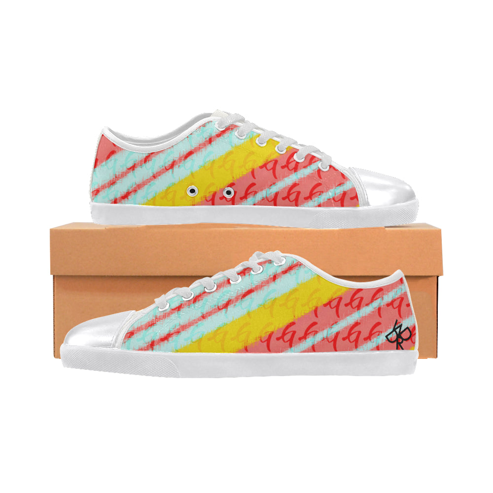 Gangish Spring Pattern Women's Canvas Shoes