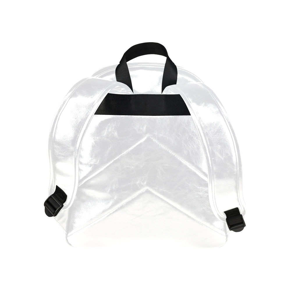 Designer Strap Backpack