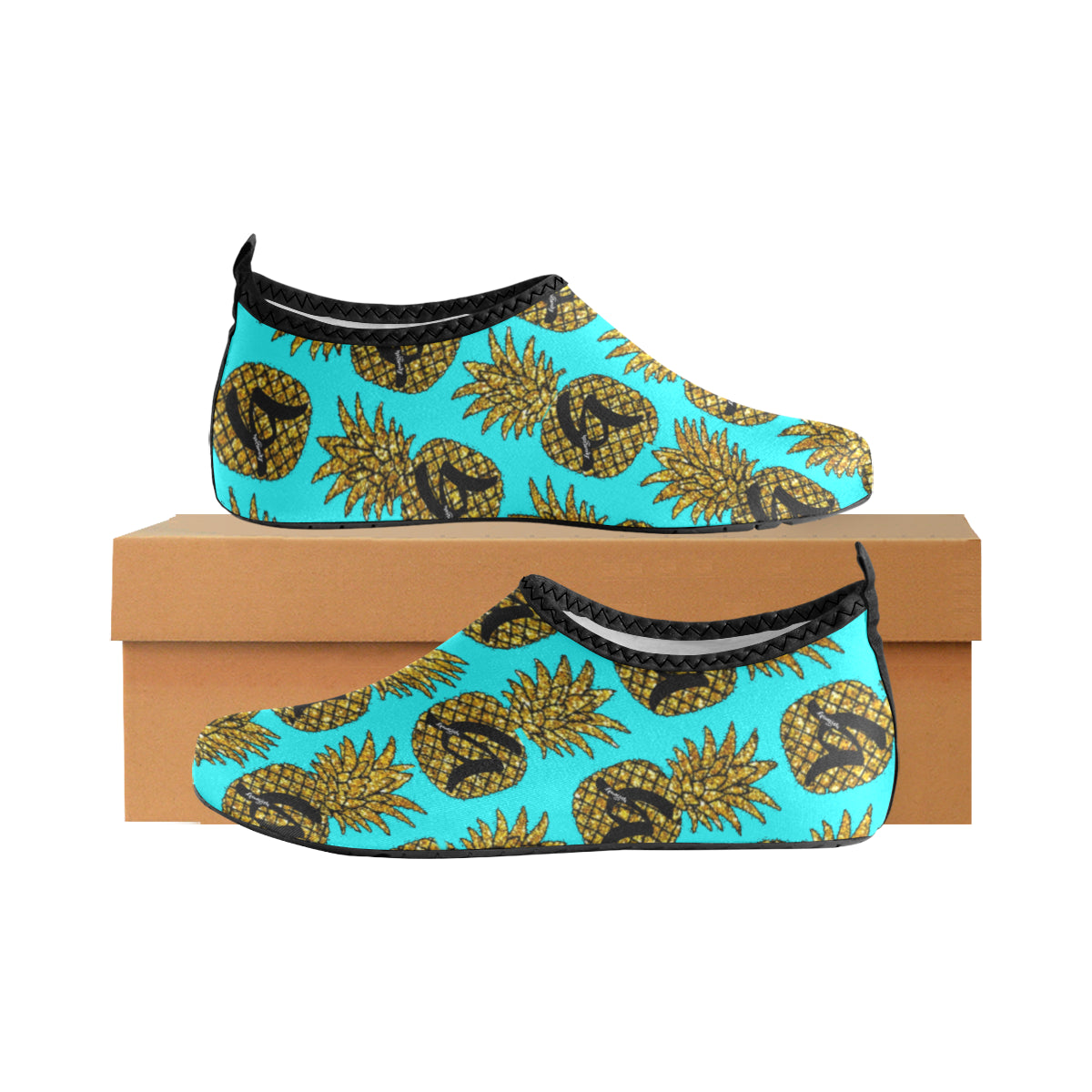 WddR Hydro1 Pineapple Slip-On Shoes