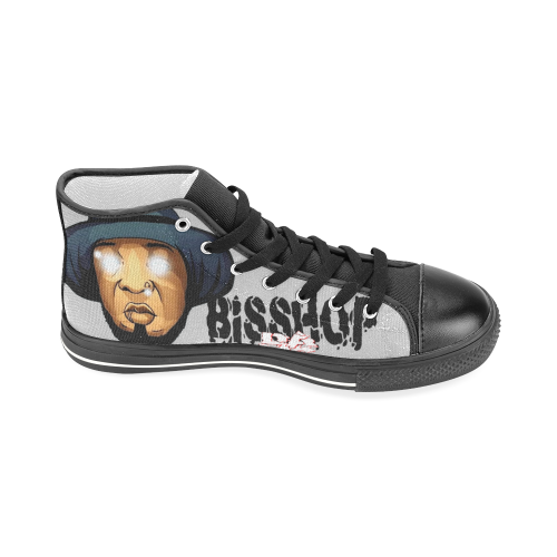 BISSHOP 1S Men's Classic High Top Canvas Shoes