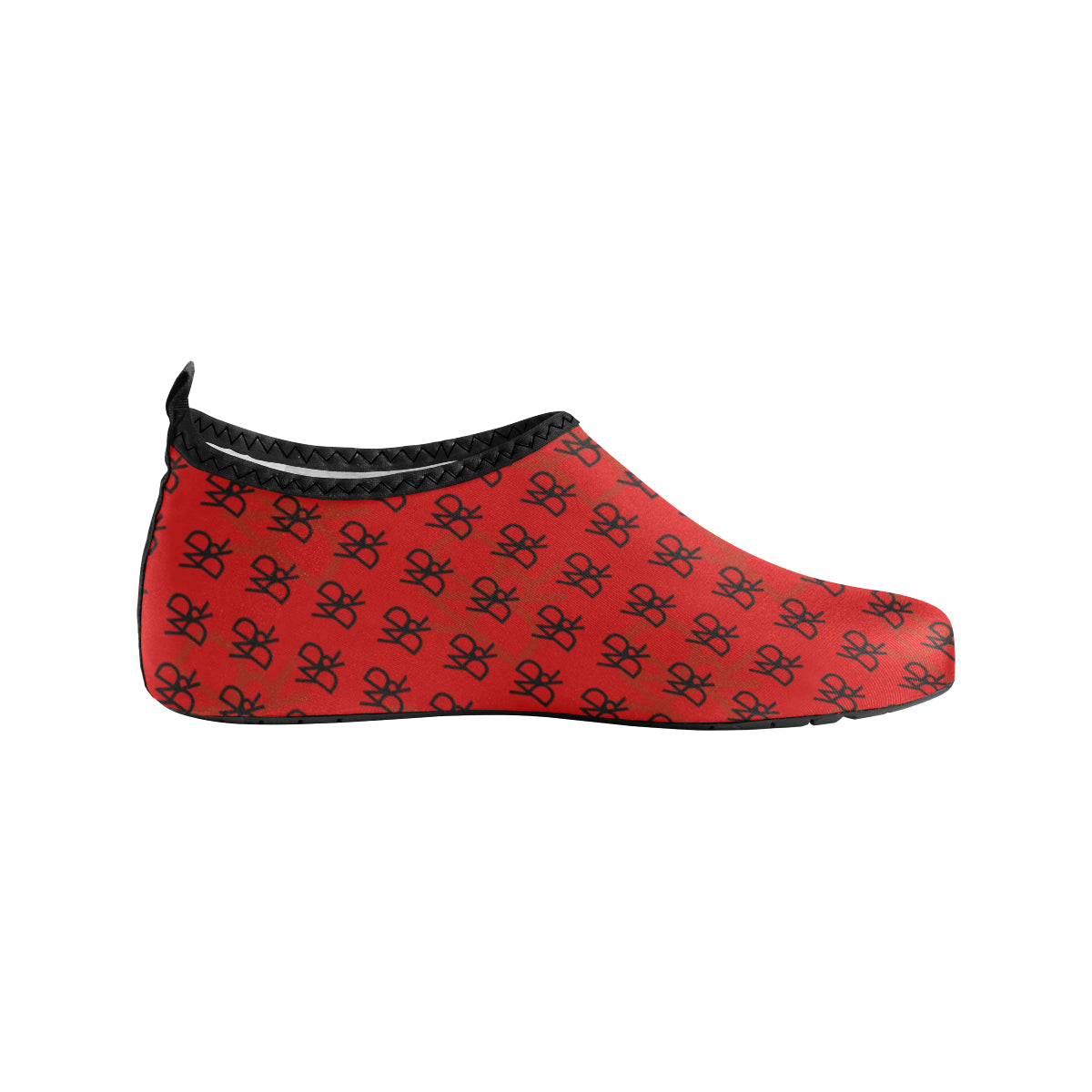 WddR Hydro1 Red Slip-On Shoes