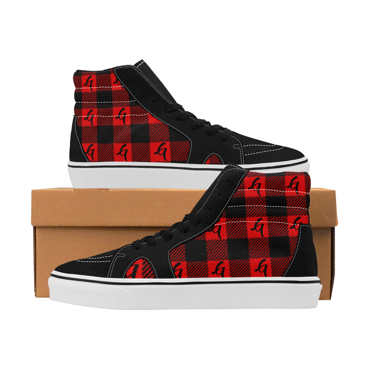 Gangish Flannel Skateboarding Shoes
