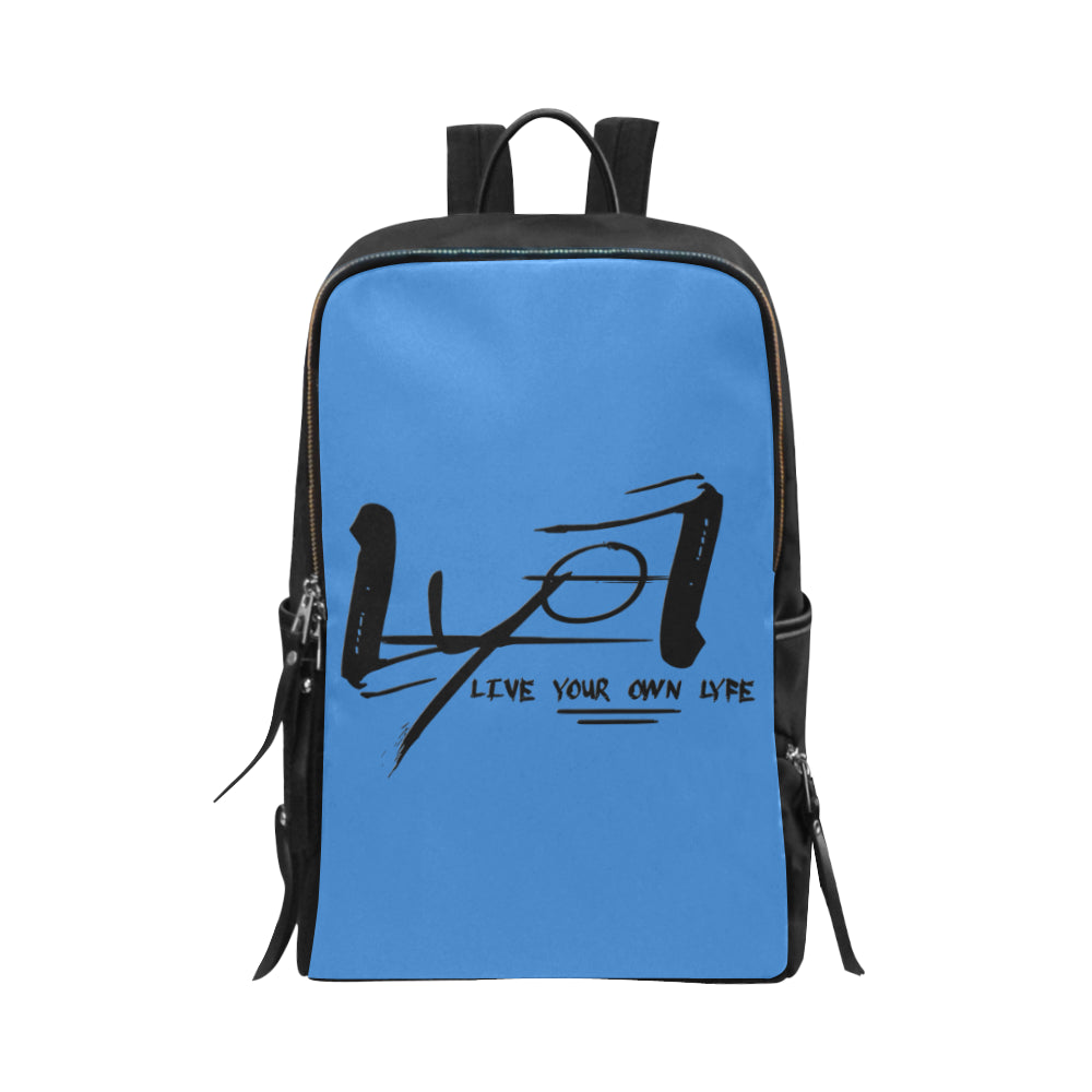 Lyol Box Blue Slim Backpack