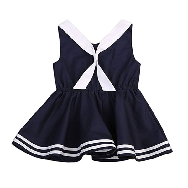 Baby Girl Bowknot Dress Onesie