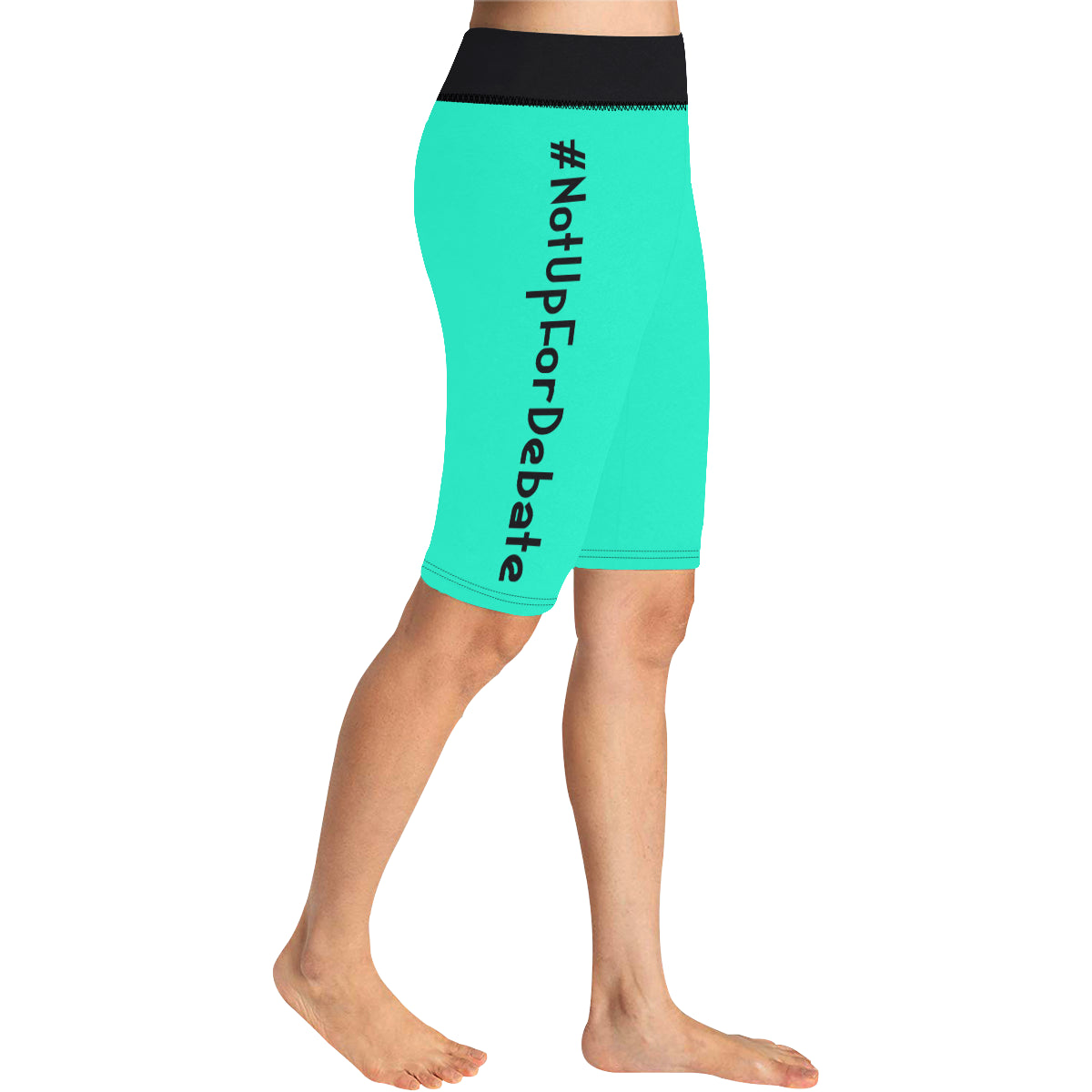 BJai Nufd Teal Knee Length Leggings