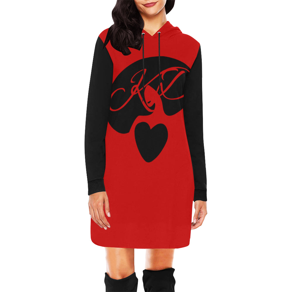 Kyria Dynami Hoodie Mini Dress