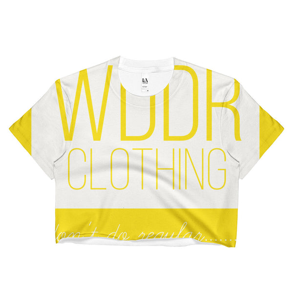 Ladies Crop Top wddr