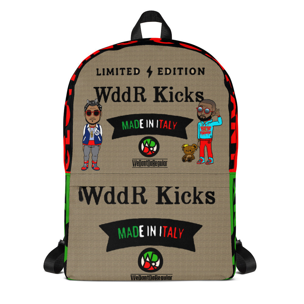 WddR Designer Kicks Backpack
