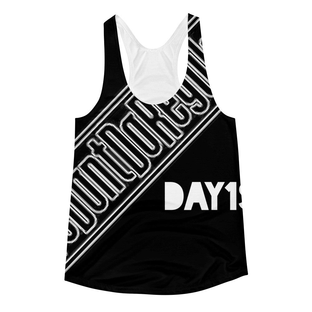 Day1s Ladies Racerback Tank