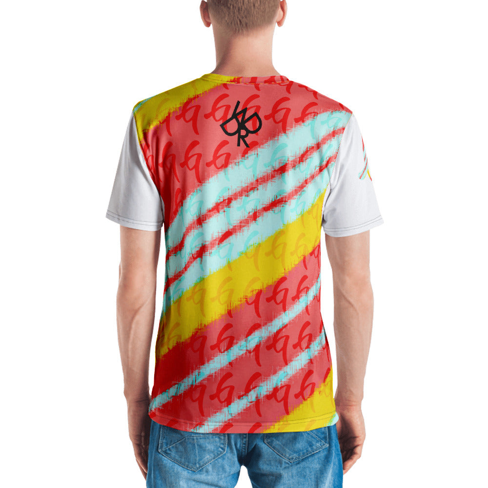 Gangish Spring Pattern Men's T-shirt