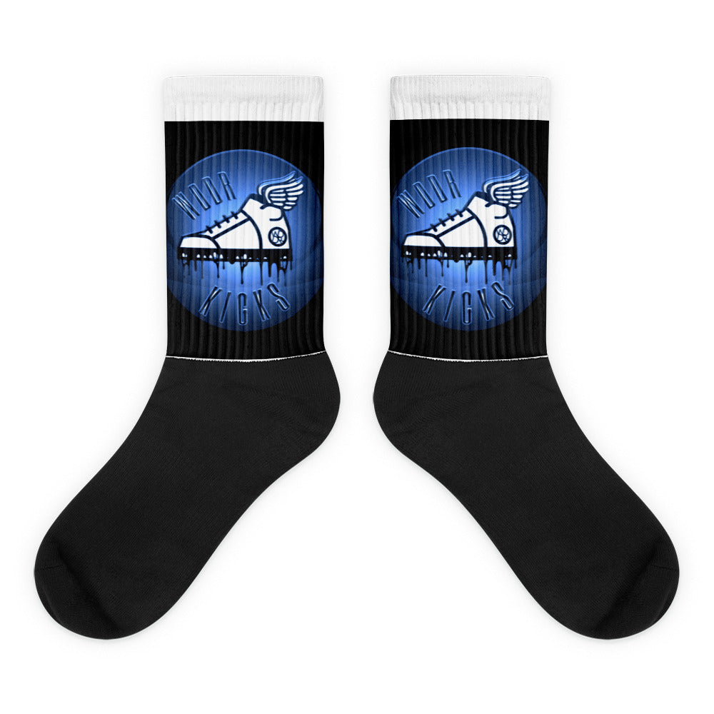 WDDR Kick Black foot socks