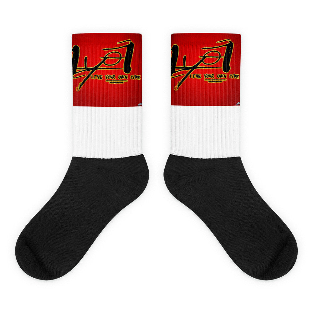 LYOL Red top  socks