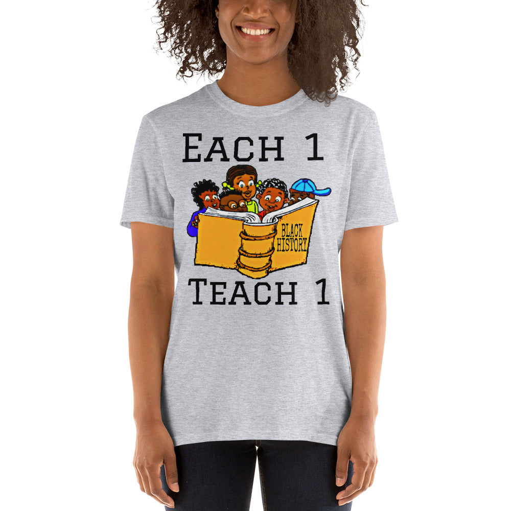 Each1 Teach1 BHM T-Shirt
