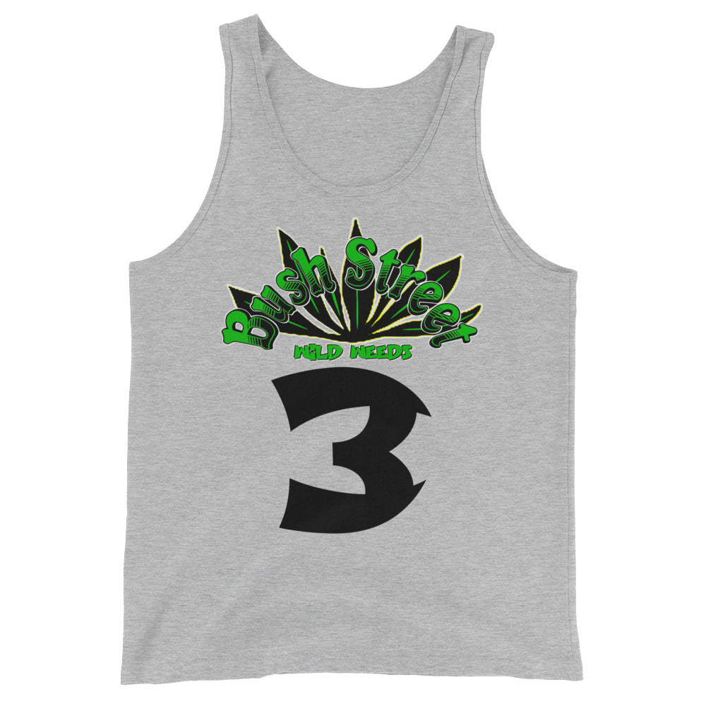 Bush St. (Wild Weeds) Jersey Tank Top