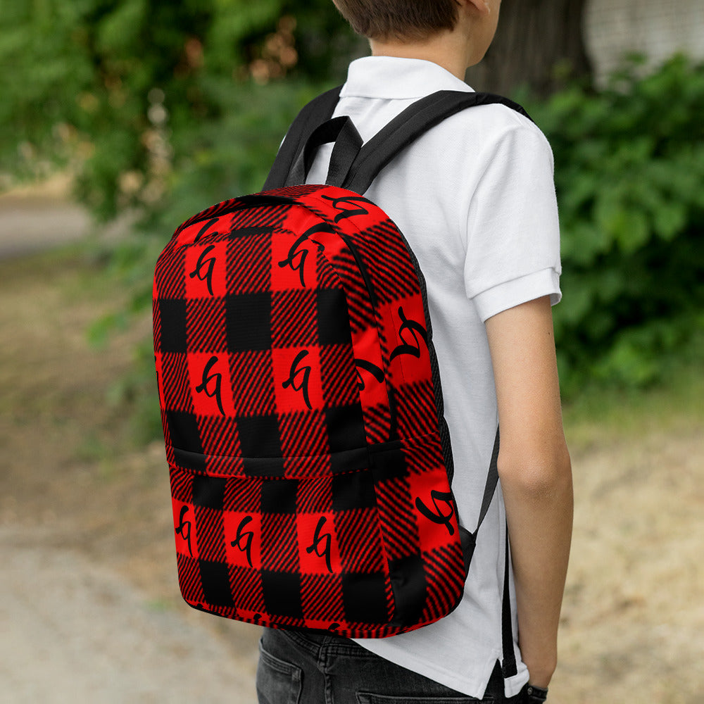 Gangish Flannel Backpack