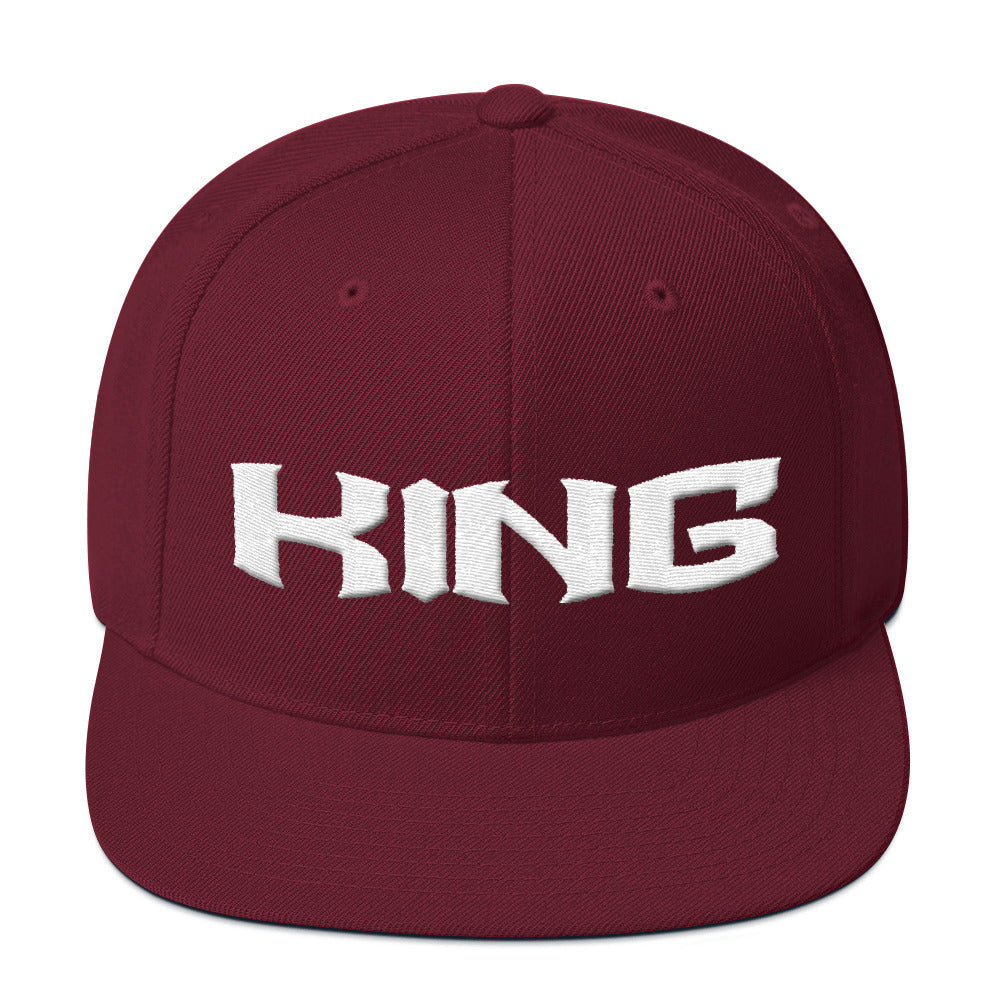 """The King"" Snapback Hat"