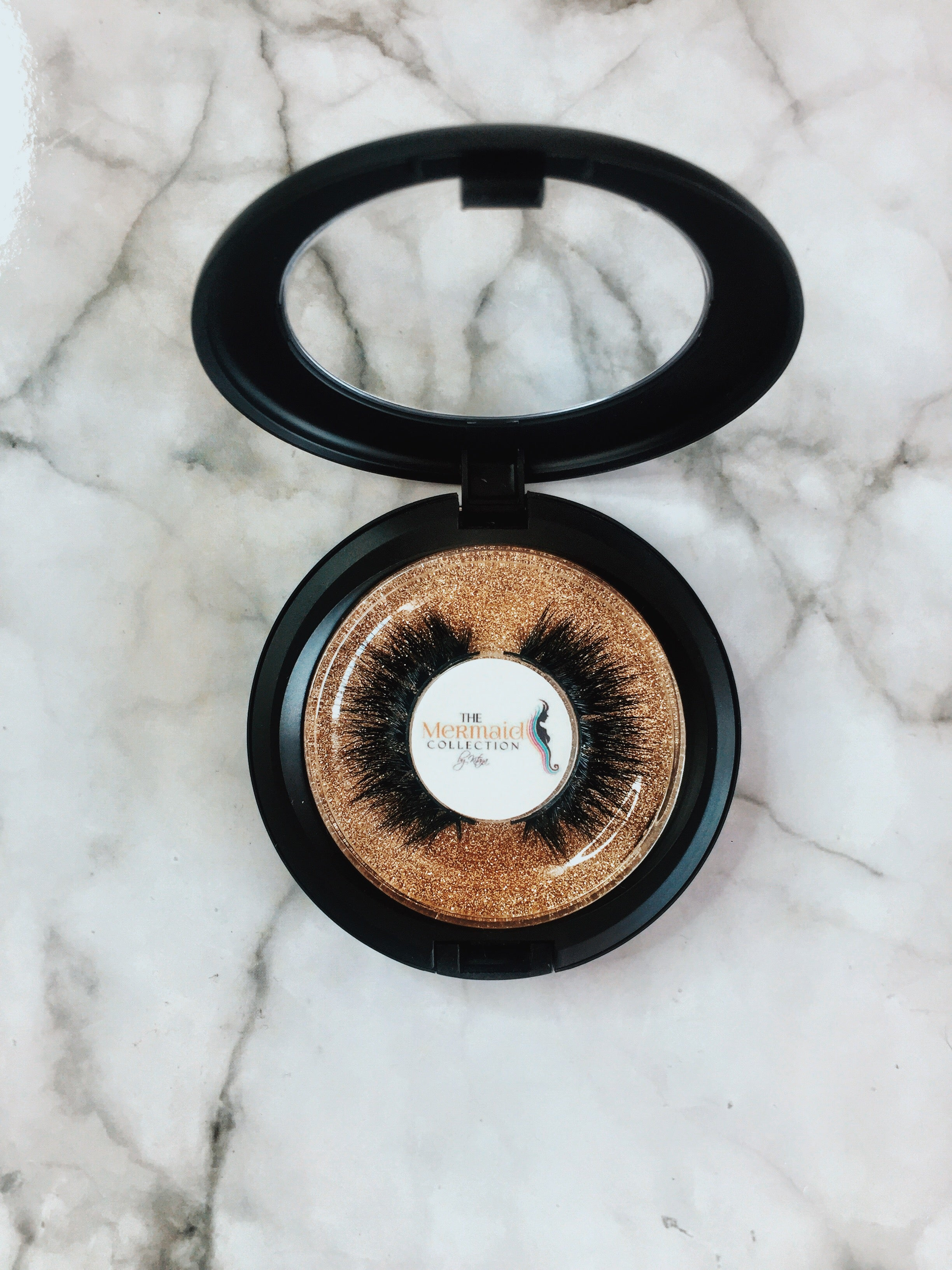 "The Mermaid Collection 3D ""MAJESTIC"" 100% Mink Lashes"