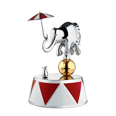 "Circus Limited Edition ""Ballerina"" Music Box by Officina Alessi"