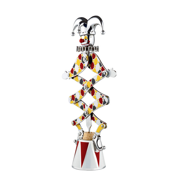 "Circus Limited Edition ""The Jester"" Corkscrew by Officina Alessi"