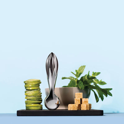 Valerio Citrus Squeezer and Pestle by Alessi
