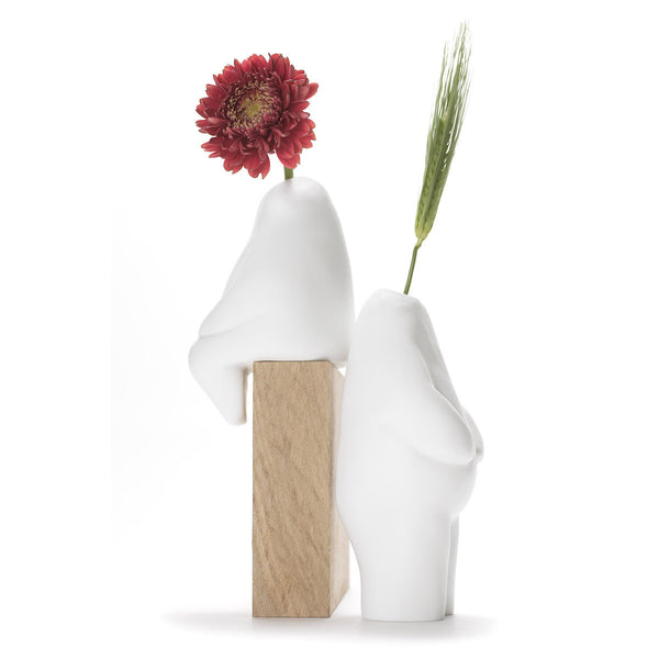 Flowerman Vase by +d