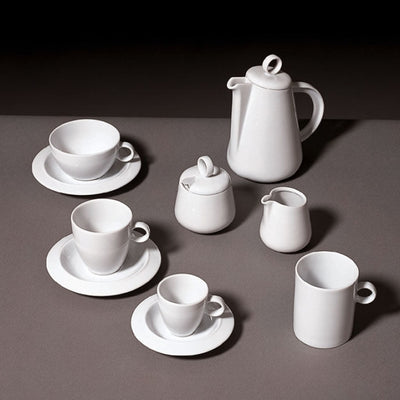 Bavero Teacup Saucer by Alessi