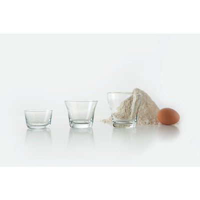 123dl Wine Glass/Measuring Cup Set by Alessi