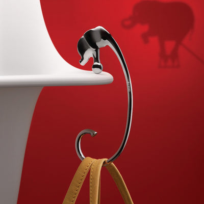 Jumbo Purse Hook by Alessi
