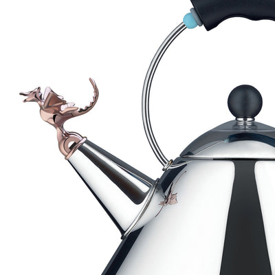 Tea Rex Kettle with Dragon Whistle by Alessi