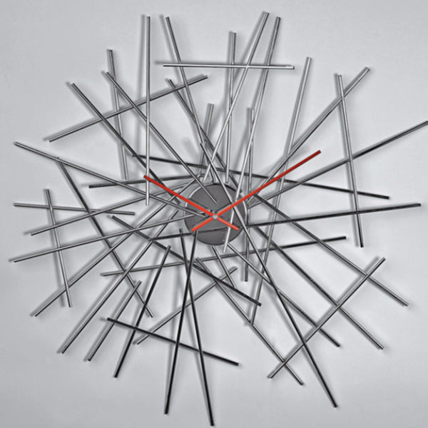 Blow Up Wall Clock by Alessi